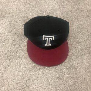 Temple University Fitted Cap